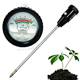 Yumian Long Electrode Soil pH Level Meter Moisture Tester 295mm Metal Probe Plant Crops