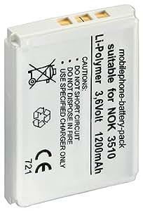 1aTTack 7650808 - Batería para Nokia 3310/3510 (1200 mAh, 3,7 V)