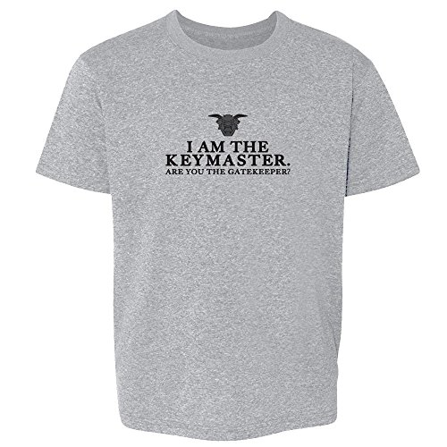 Pop Threads I Am The Keymaster are You The Gatekeeper Sport Grey 6 Toddler Short Sleeve Kids T-Shirt Baby/Toddler/Little Kid (Tee Gatekeeper)