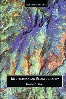 Book Mediterranean Ecogeography (Ecogeography Series)