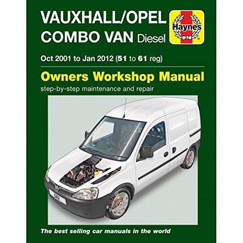 Vauxhall/Opel Combo Diesel Van (Oct 2001 To Jan 2012) 51 To - Vauxhall Vans
