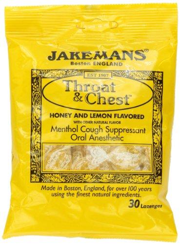 Jakeman's Confectioners - Jakeman's Honey Throat & Chest Lozenges, 30 lozenges