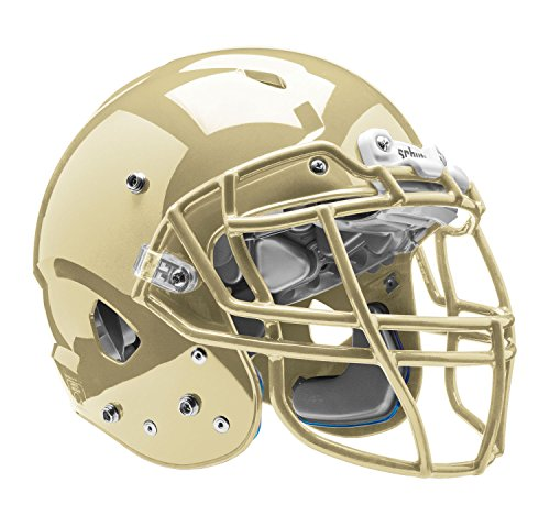 Schutt Sports Vengeance VTD II Football Helmet without Faceguard, Metallic Vegas Gold, X-Large ()