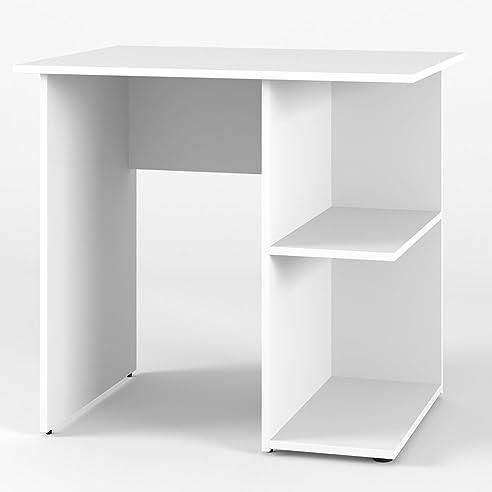 Büro eckschreibtisch weiß  VICCO Schreibtisch SIMPLE 76 x 82 cm Sonoma Eiche oder Weiß ...