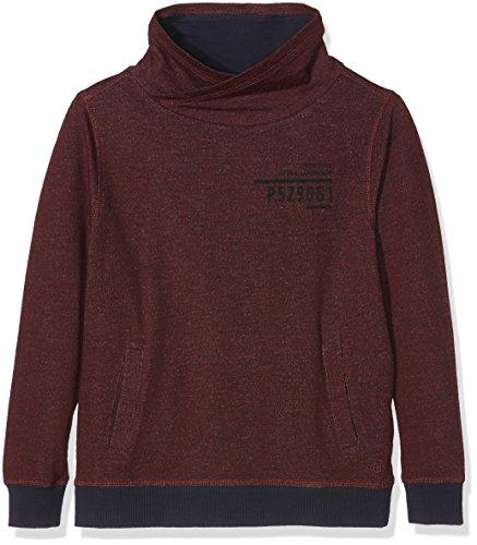 s.Oliver Jungen Sweatshirt 79.610.41.5781, Violett (Dark Pink Melange 49W2), 164 (Herstellergröße: L)
