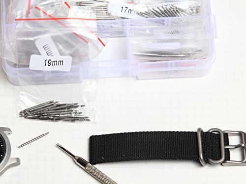 Ginsco-360-Pcs-20-Sizes-6-25mm-Stainless-Steel-Watch-Band-Spring-Bars-Link-Pins-with-Strap-Link-Pin-Remover-Kit