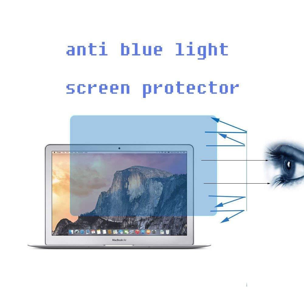 Cristal Templado de dureza 9H, para Retina MacBook Pro 13,3 con Filtro de luz Azul para aliviar la Fatiga de los Ojos Protector de Pantalla para MacBook Pro Retina de 13 Pulgadas Zshion