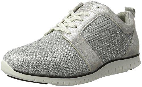 BULLBOXER Damen Sneakers Silber (white Silver)