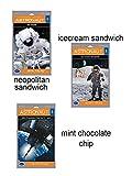 (Set of 3) Astronaut Ice cream Treats