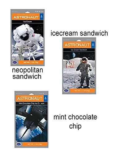 (Set of 3) Astronaut Ice cream Treats by ROCKYMART
