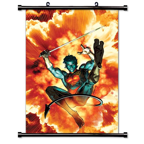 X-Men Nightcrawler Comic Fabric Wall Scroll Poster