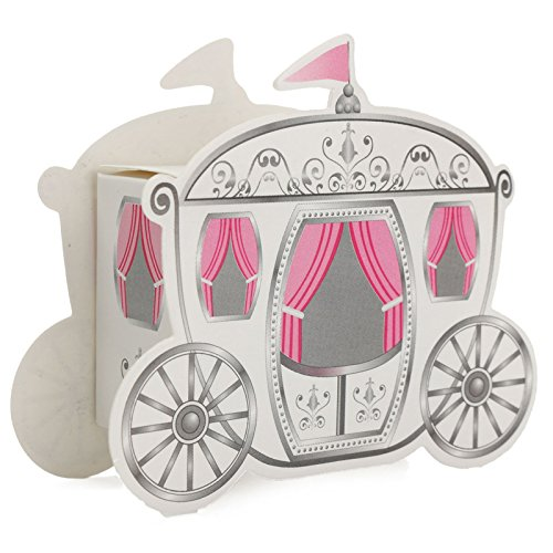 Saasiiyo 10 Pieces Miniature Paper Pumpkin Carriage Candy Gift Box For Princess Wedding Party Guests Present Cinderella Package Europe - Greenville Outlets Sc