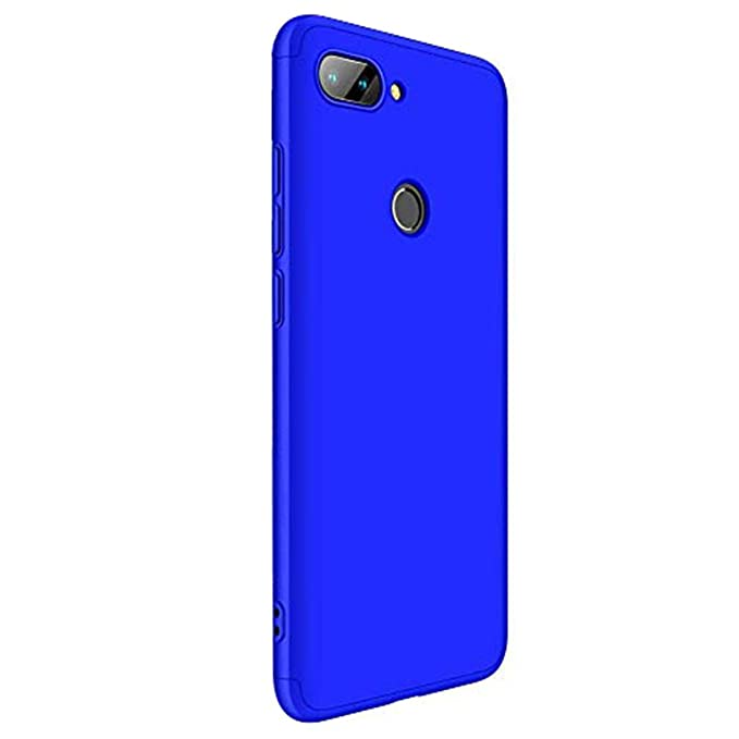 Croazhi Funda Compatible con Xiaomi Mi 8 Lite Carcasa para Mi 8 Lite Cover Case PC Protector Silicona Libro Gel Ultra-Fina-Slim 360 Transparente ...