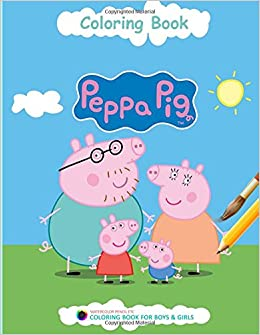 Amazon Peppa Pig Coloring Book Adventures Of In 9781978192461 Tyler Wilson Books