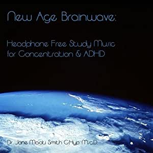New Age Brainwave: Headphone Free Study Music for Concentration & ADHD