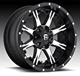 Fuel Nutz 20 Black Machined Wheel / Rim 6x135 & 6x5.5 with a -24mm Offset and a 106.4 Hub Bore. Partnumber D54120009845