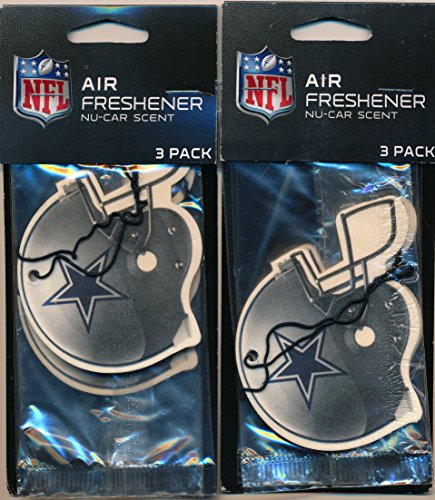 dallas-cowboys-nfl-helmet-logo-air-fresheners-2-packs-of-3-for-6-total-great-holiday-gifts