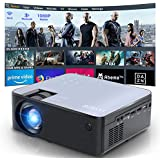Mini 1080P HD Projector  Bluetooth Projector  WiFi Projector Compatible with Fire Stick/Roku  6800 Lumen 200 inch Support HDMI  VGA  Android/ iPhone/ Laptops Portable for Home Movie Outdoor?2020 Upgrade?