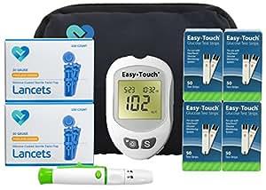 Amazon.com: Easy Touch Diabetes Testing Kit, 100 Count