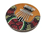 Hand Crafted Coconut and Wood Kalimba Mbira Thumb Piano