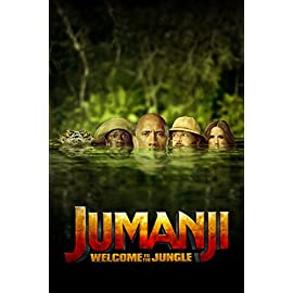 Jumanji-Welcome-To-The-Jungle-Blu-ray
