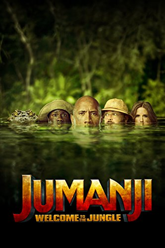 Jumanji-Welcome-To-The-Jungle-Blu-ray