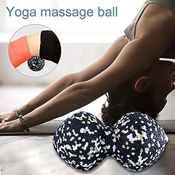 Maliyaw Bola de Masaje de Yoga con Forma de maní, Rodillo de ...