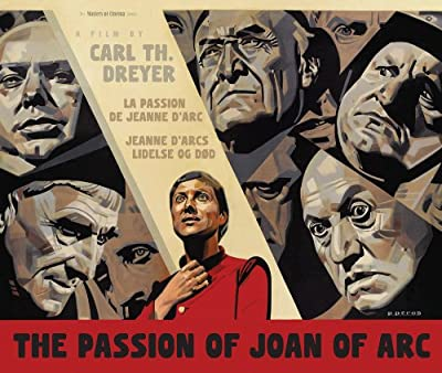 The Passion Of Joan Of Arc [La Passion De Jeanne D'Arc]- Masters Of Cinema - Double Play (Blu-ray + DVD) - Steelbook