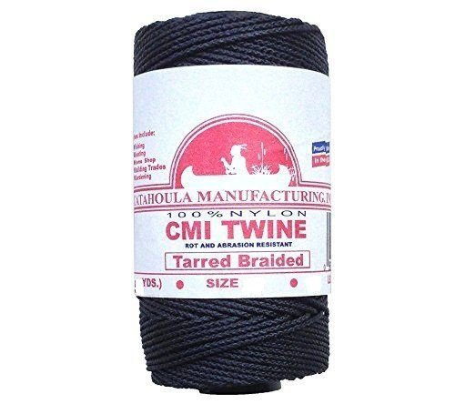 Catahoula CMI TARRED BRAIDED SIZE 24 BLACK TWINE