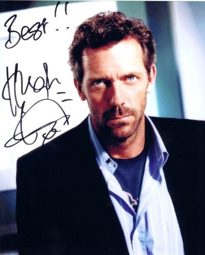 Hugh Laurie In the TV Series House Autographed Signed 8 X 10 Reprint Photo - Mint Condition from Nostalgic Cards & Autographs