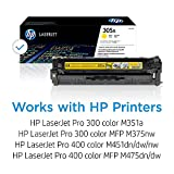 HP 305A   CE412A   Toner-Cartridge   Yellow   Works