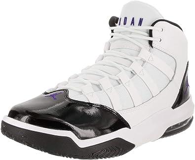 Basketball Shoe, Gym Red White Black