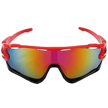 Gafas De Ciclismo Lente De PC Antichoque UV400 Luz Polarizada Anti-Reflejo Protección Radiológica Gafas