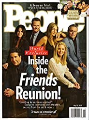 PEOPLE MAGAZINE - MAY 31, 2021 - INSIDE THE FRIENDS REUNION!