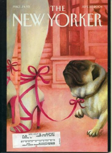 New Yorker September 27, 2004 Style Special, Zadie Smith Fiction, John Updike Reviews Jose Saramago's 'The Double', Poems by Elizabeth Spires and Katha Pollit