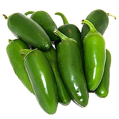 30+ ORGANICALLY Grown Mucho Nacho Jalapeno Hot Pepper Seeds Heirloom Non-GMO, Capsicum annuum, Spicy, Super Delicious and Fragrant! from USA : Garden & Outdoor