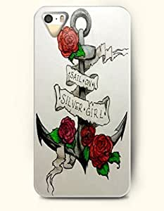 Phone Case For iPhone 5 5S Red Roses And Acher - Hard Back Plastic Case / Oil Painting / OOFIT Authentic