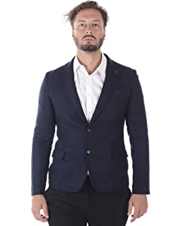 Trussardi Jeans Jacket Slim Fit Jersey Micro F Cappotto Uomo