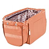 Pursfection EXPANDABLE Purse Organizer - Tan/Leopard