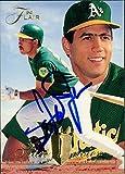 Signed Javier, Stan (Oakland Athletics) 1994 Fleer Baseball Card autographed