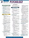 img - for Psychology - REA's Quick Access Reference Chart (Quick Access Reference Charts) book / textbook / text book