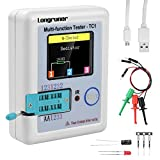 Longruner 1.8 inch Colorful Display Pocketable Multifunctional TFT Backlight Transistor LCR-TC1 Tester