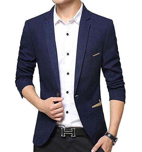 Wear Blue Blazer - 9