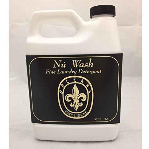 Orleans Home Fragrance Nu Wash Fine Laundry Detergent - Fine Linens - 32 Fl - Fine Linen Wash