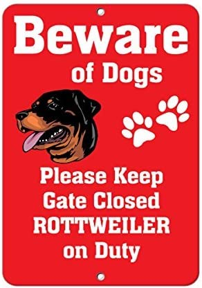 BEWARE OF THE SPIDER OUTDOOR//INDOOR SIGN PRE DRILLED GATE DOG