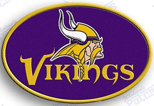 (MINNESOTA VIKINGS IRON ON patches patch FOOTBALL NFL SUPER BOWL )