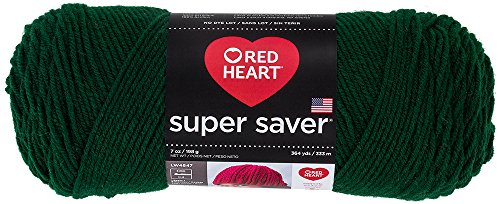 Fun Easter Basket Crochet Patterns - Free & Paid - Red Heart Super Saver Economy Yarn, Hunter Green