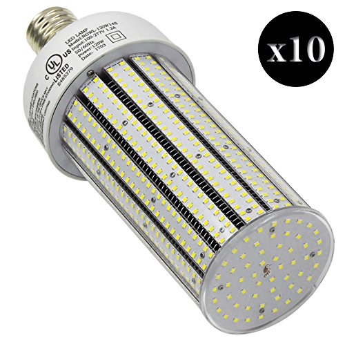 QTY 10 CC120-39 LED YACHT CLUB CARNIVAL POST LED LIGHT E39 6500K WHITE 120W (EQUIVALENT TO 720W) by VLYNX (Image #1)