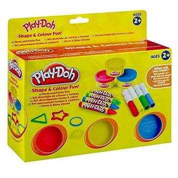 SAMBRO Play-Doh Forma y Color Fun, forma y color, a partir de 2 años: Play- Doh: Amazon.es: Juguetes y juegos