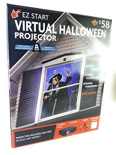 New Virtual Halloween Projector Projects 9 Movies]()